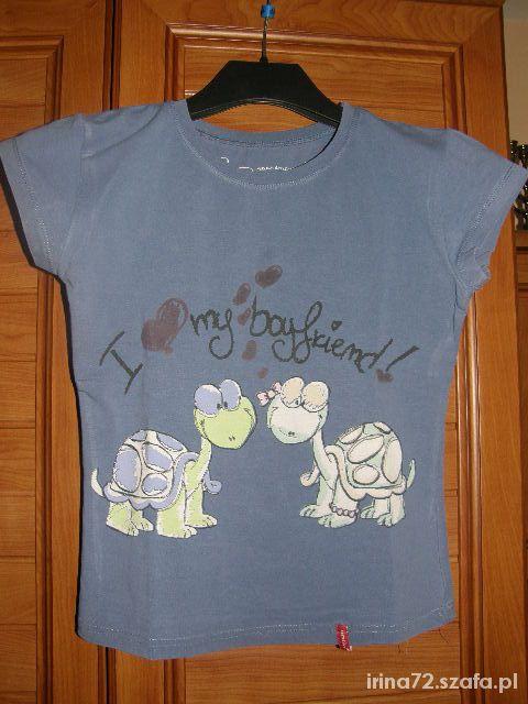 Emtivi bluzeczka z żółwiami XS S