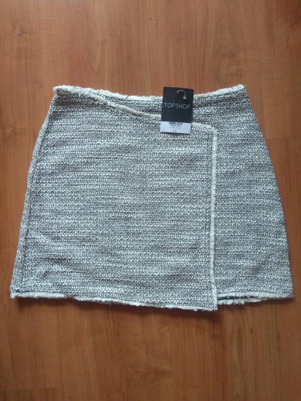 Spódnice Krótka mini trapezowa dzianinowa spódniczka nowa Top Shop