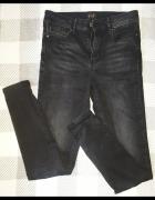 F&F spodnie skinny push up...