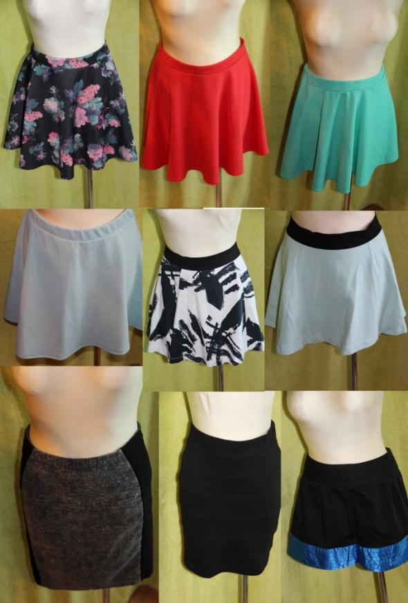 Markowe spodnice Vero moda reserved House New look Okazja WYŚLĘ