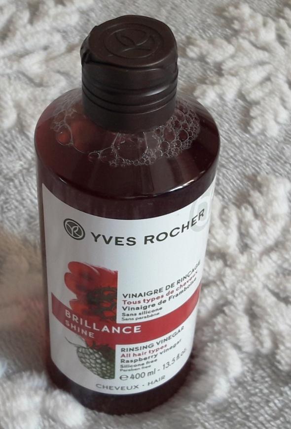 Yves Rocher płukanka octowa z malin do włosów 400 ml