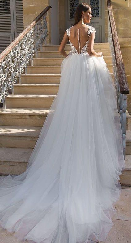 Nowa suknia ślubna cekiny tren księżniczka