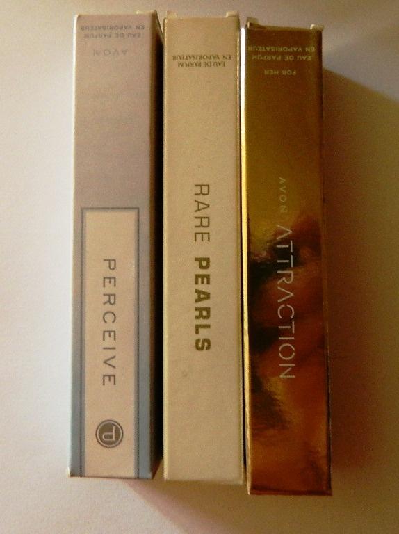Avon perfumetki 3x15ml edp