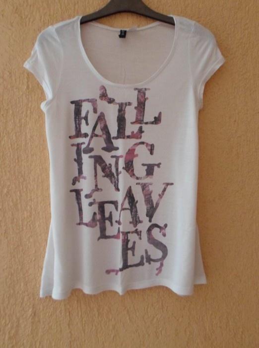 Biały tshirt xs