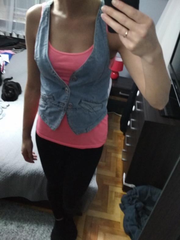 kamizelka jeansowa
