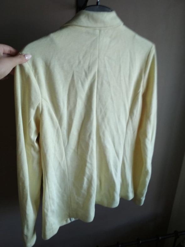 Dresowy żakiet S sinsay żółty kanarkowy