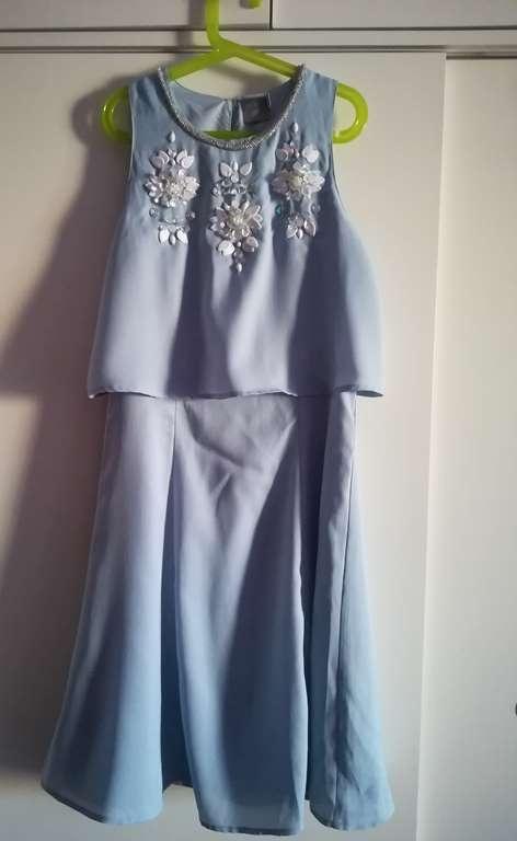 Asos niebieska sukienka...