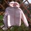Nowa jasno różowa pikowana kurta wiosenna 140...
