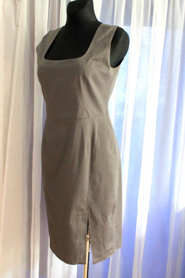 Elegancka biurowa sukienka r L