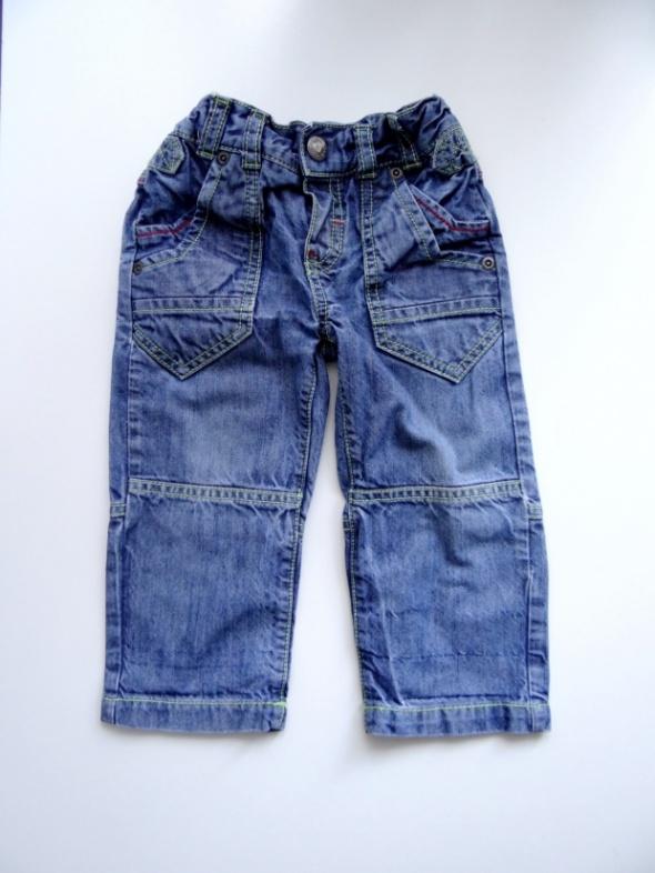 Spodnie jeansowe rozmiar od 80 do 86