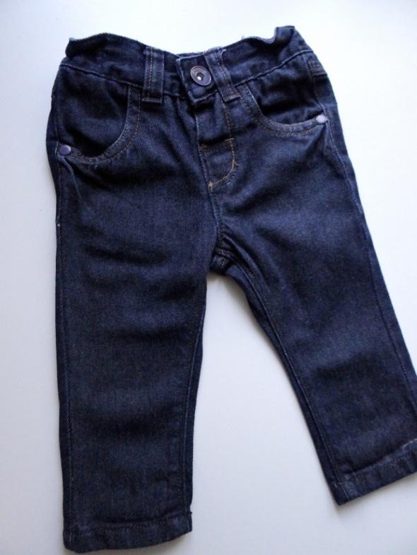 Jeansy spodnie od 3 do 6 miesięcy