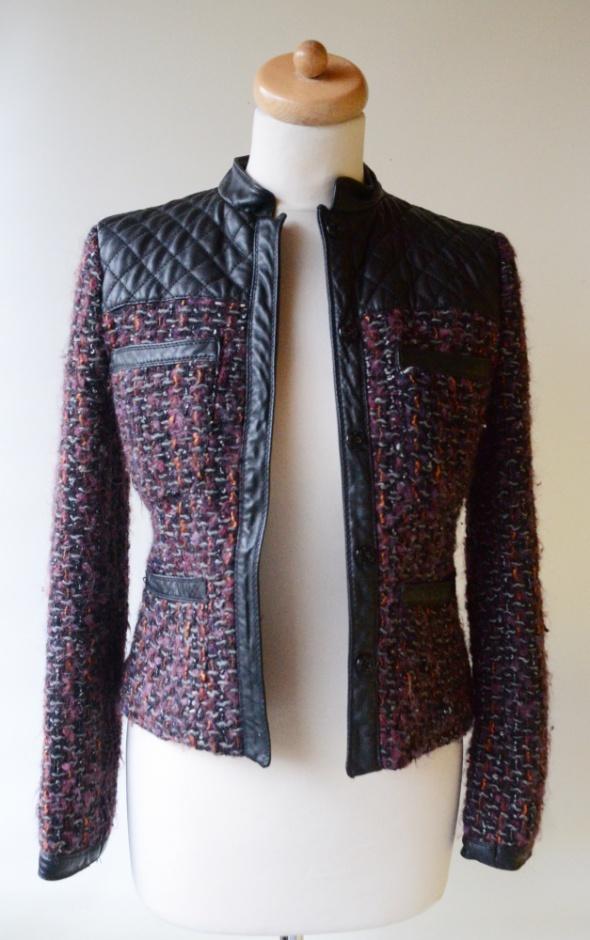 3cb87f2cc501f Marynarki i żakiety Marynarka Katanka Zara Woman S 36 Eko Wstawki Chanelka