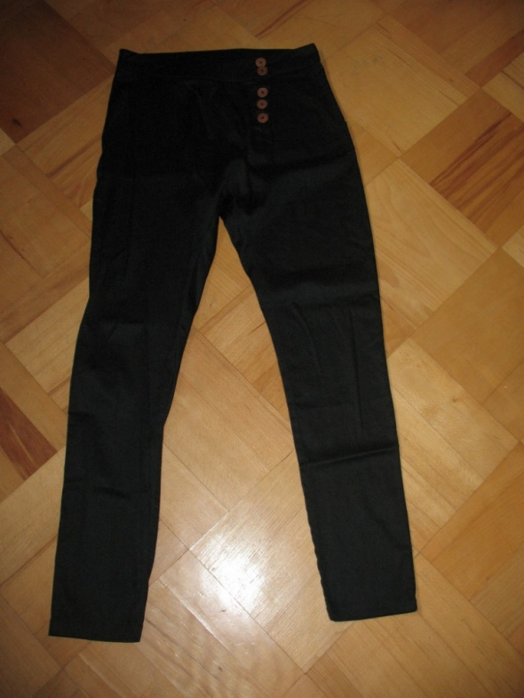 Nowe czarne spodnie Vila M L