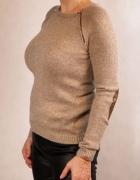 CUDO milutki Sweter Top Secret 36 S ozdobne suwaki...