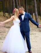 Suknia ślubna Princesska AMBER bolerko i welon...