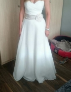 Suknia slubna Sincerity 3706 welon i bolerko muslin...