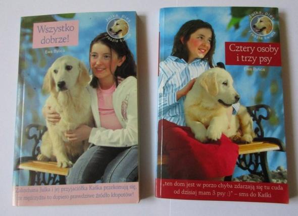 Wszystko dobrze Cztery osoby i trzy psy zestaw 2 książki