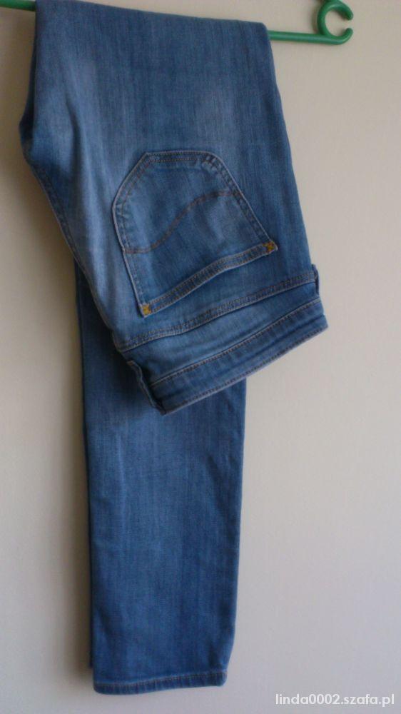 spodnie jeans LEE lynn skinny