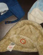 3 firmowe czapki pilotki...