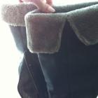 wysokie ocieplane futerko kożuszek muszkieterki 38