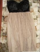 tiulowa gorsetowa sukienka tiul gorset eco