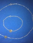 łańcuszek bransoletka srebro 925 kółko kółeczko