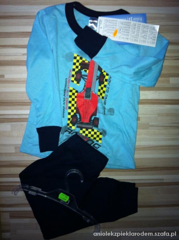 Piżamki NOWA 2 cz piżama dla chłopca 92 98