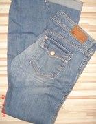 jeansy HM sqin skinny rurki przetarcia M 38...