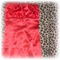 satynowa czerwona ołówkowa S 36