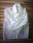 biała elegancka koszula biel 92 98 śnieżnobiała...