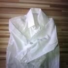 biała elegancka koszula biel 92 98 śnieżnobiała