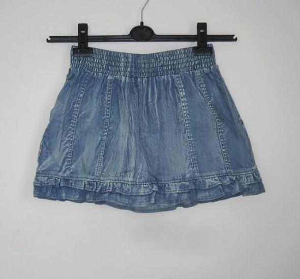 spódniczka jeansowa na gumie ichi s...