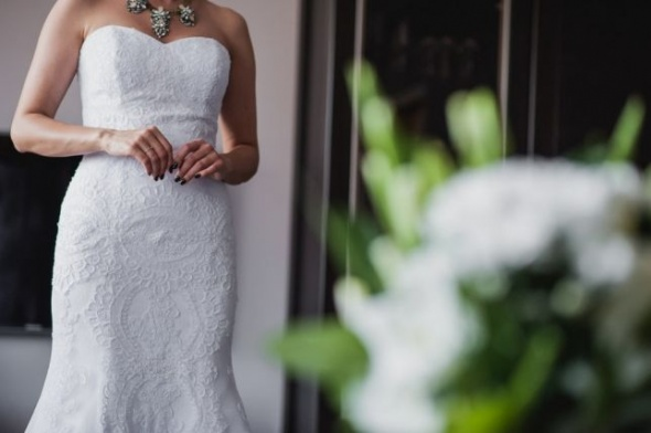 Koronkowa suknia ślubna syrenka Jardin Amy Love...