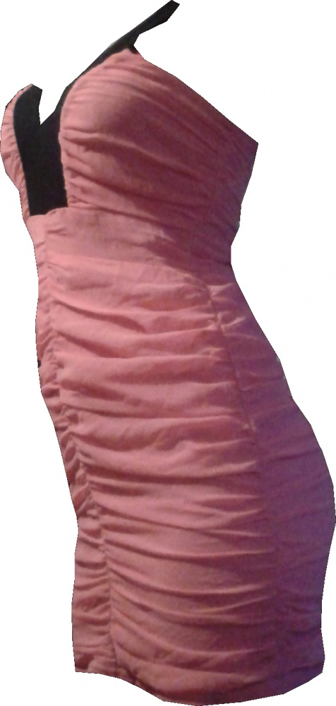 Różowa sukienka MISO