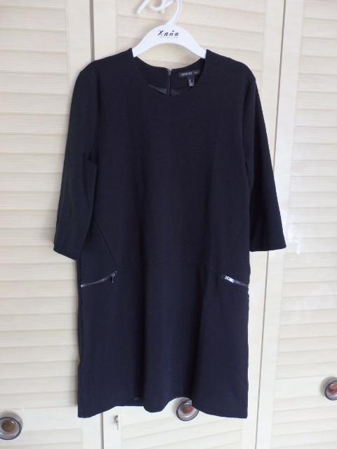 sukienka z kieszeniami zipy