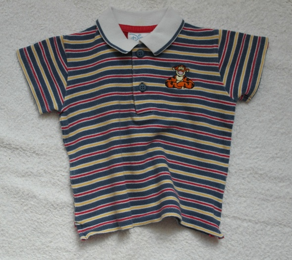 Bluzeczka Disney w paski z tygryskiem 68