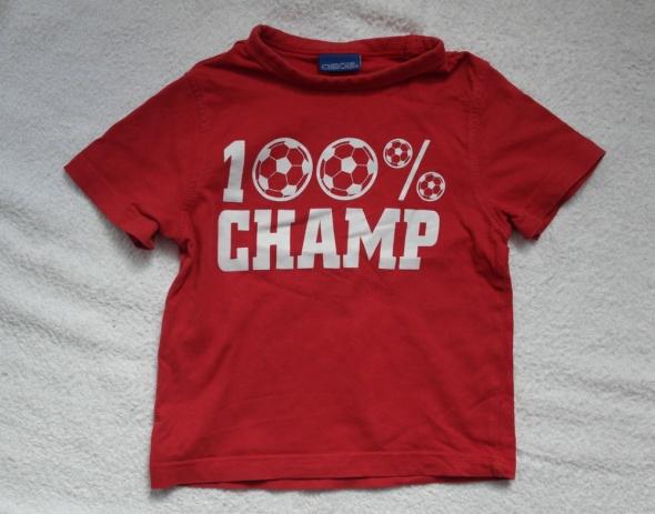 Cherokee bluzeczka czerwona 74