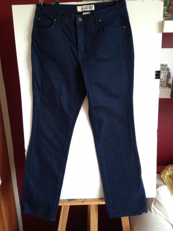 Granatowe nowe spodnie Bootcut rozm 40 42