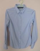 Błękitna koszula Zara basic...