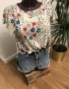 bluzeczka Top Shop w łączkę...