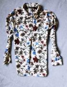 Koszula Zara nowa Floral kwiaty prezent świeta black friday...