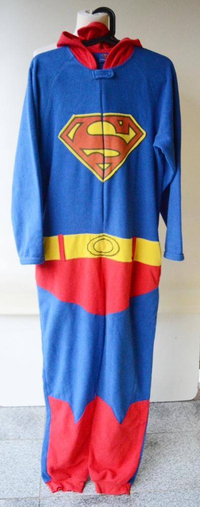 Kombinezon XS 34 Polar Superman Niebieski Polarowy