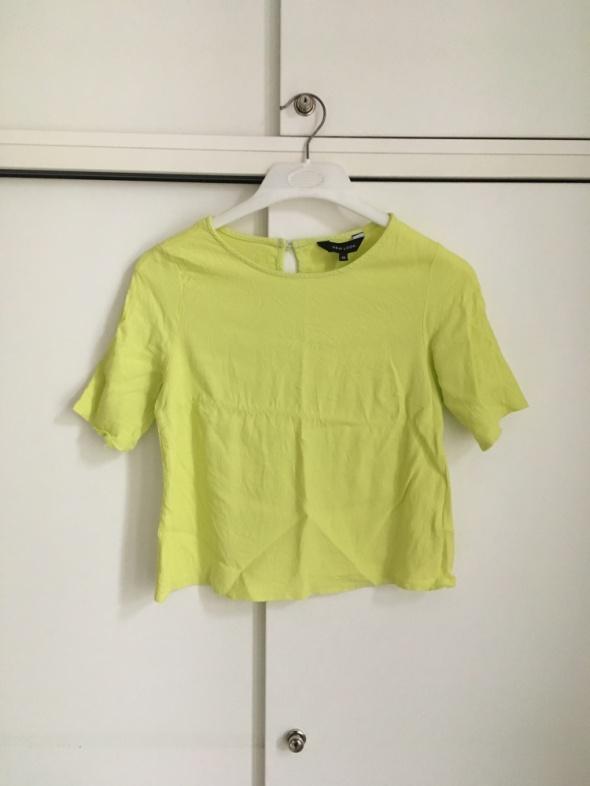 limonkowa bluzka New Look 40...
