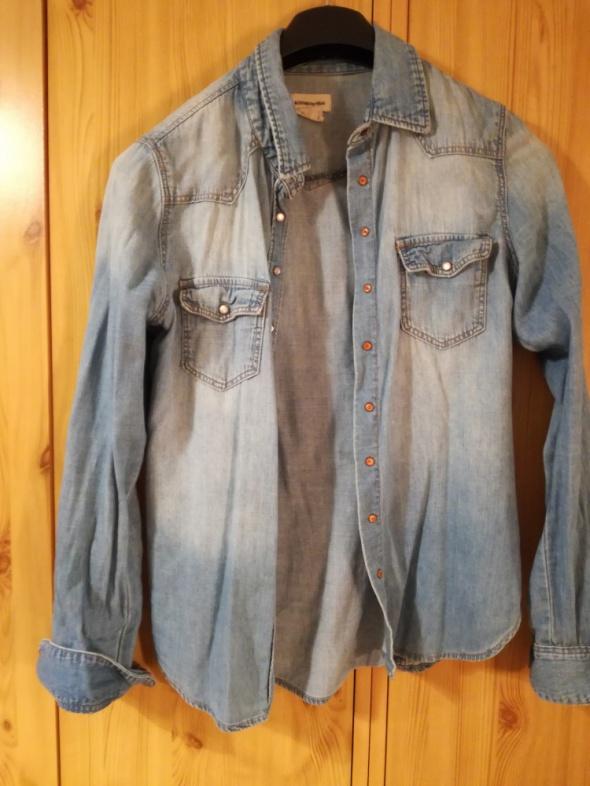 Koszula jasny jeans H&M...