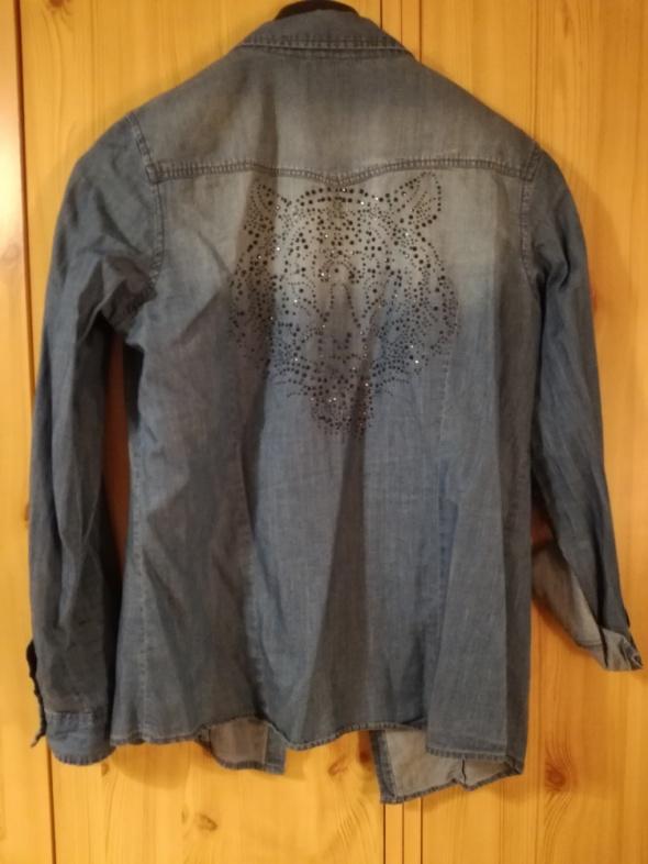 Koszula jeans Camaieu...