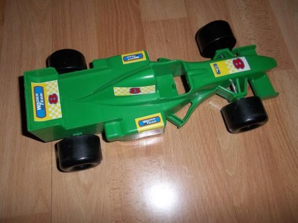 Wyścigówka zielona