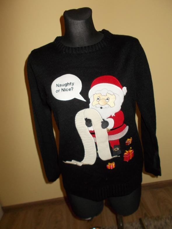 Sweter świąteczny Atmosphere Mikołaj S...