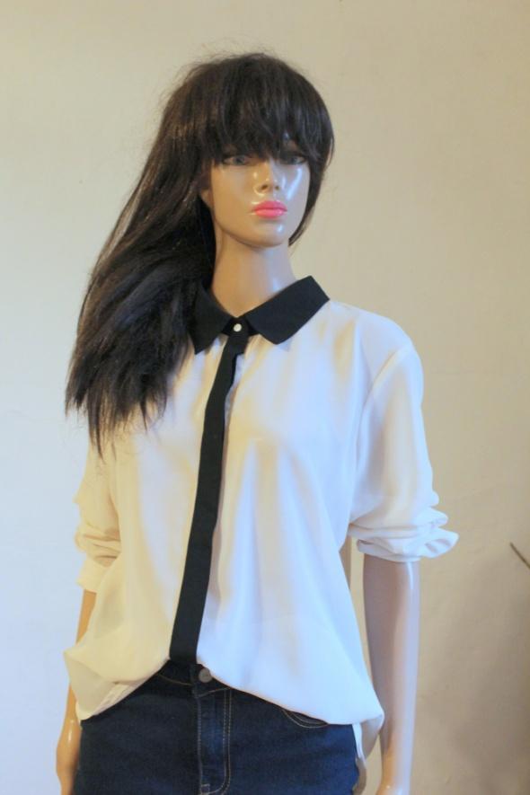 Elegancka koszula mgiełka r M...