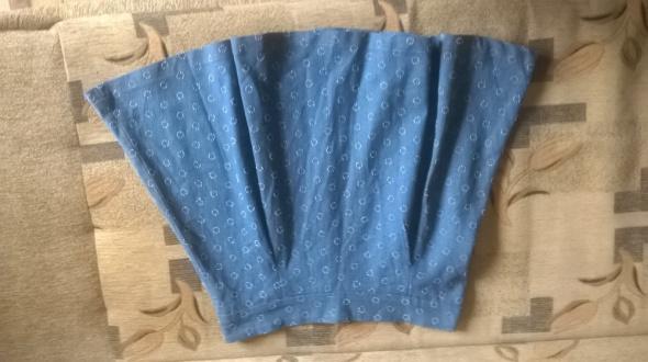 Spódnice Okazja śliczna spódniczka rozkloszowana zakładki