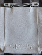DKNY biała torebka shopper...